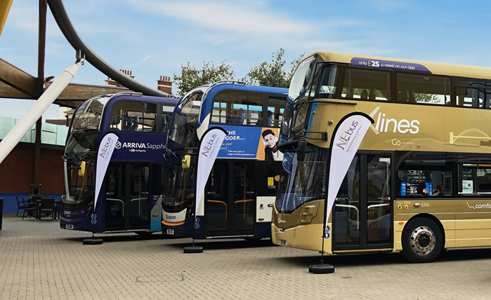 NEbus - Arriva, Stagecoach and Go North East